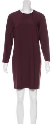 Theory Long Sleeve Shift Dress