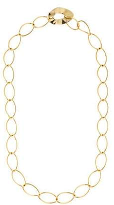 Pomellato 18K Oval Link Chain Necklace