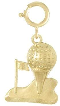 Ani De Ani, Inc. Golf Charm, 14k