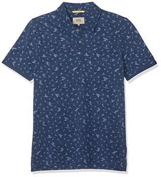 7d351b05bf Camel Active Men's Polo Piqué 1/2 Shirt, (Blue Core 15),