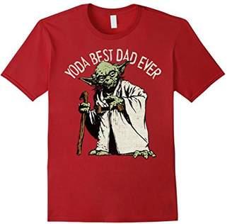 Star Wars Yoda Best Dad Ever Graphic T-Shirt C1