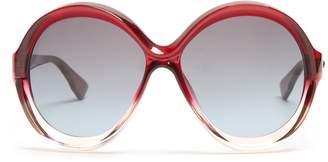 Christian Dior Bianca round-frame sunglasses