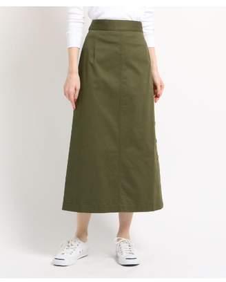 Dessin (デッサン) - Ladies [洗える][ウエスト後ろゴム]サイドボタンロングスカート