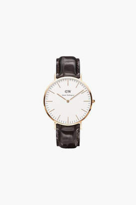Daniel Wellington Ladies Classic York Rose Gold Watch