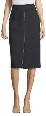 Jason Wu Compact Crepe Pencil Skirt
