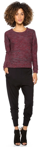 L'Agence Long Sleeve Sweater