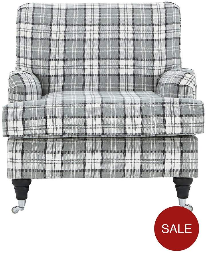 Ideal Home Wallis Fabric Accent Chair