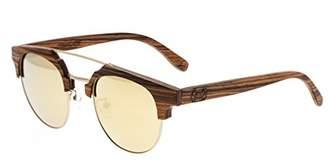 Earth Wood Kai Polarized Cateye Sunglasses