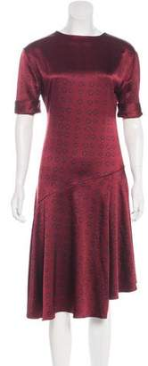 Maiyet Short Sleeve Midi Dress