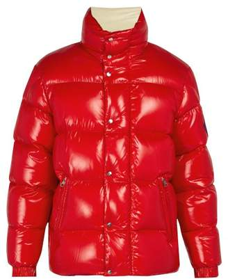 Moncler 2 1952 - Dervaux Quilted Down Jacket - Mens - Red Multi