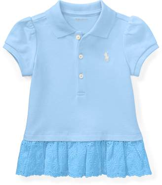 Ralph Lauren Eyelet Polo Dress & Bloomer