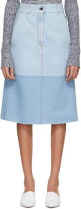 Ports 1961 Blue Denim Skirt