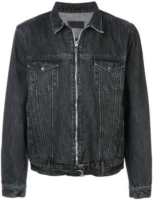 RtA denim zip jacket