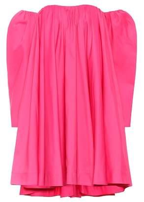 Calvin Klein Off-the-shoulder swing dress