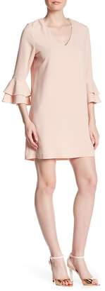 Charles Henry Bell Sleeve Shift Dress $98 thestylecure.com