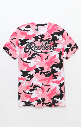 Young & Reckless Big R Script Camouflage T-Shirt