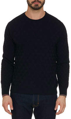 Robert Graham Men's Blackburn Textured Crewneck Sweater