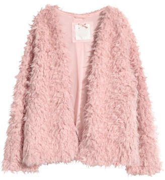 H&M Faux Fur Jacket - Pink