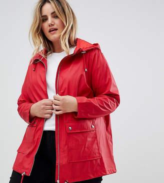 New Look Curve Plus Matte Anorak Jacket