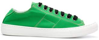 Maison Margiela contrast low-top sneakers