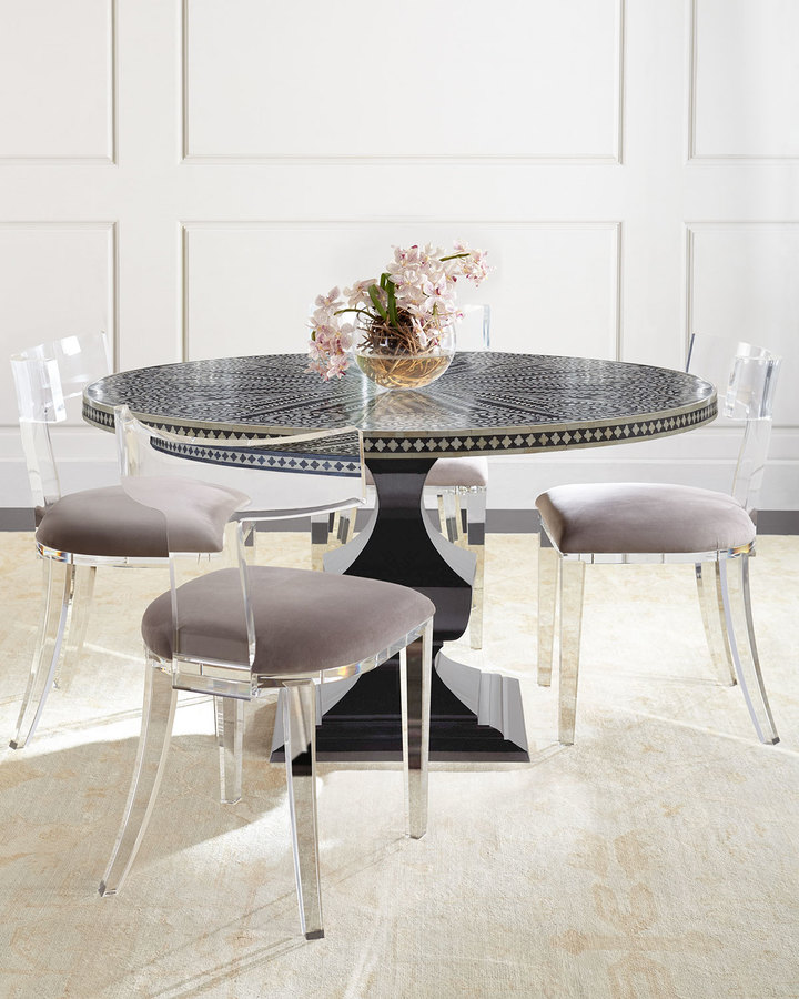 Bernhardt Bernhardt Vivian Inlay Dining Table