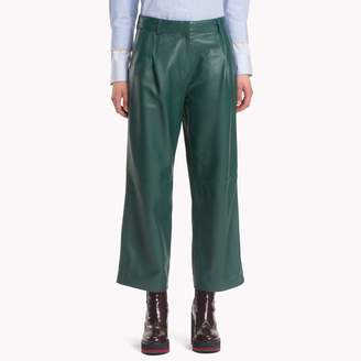 Tommy Hilfiger Leather Chino Pants