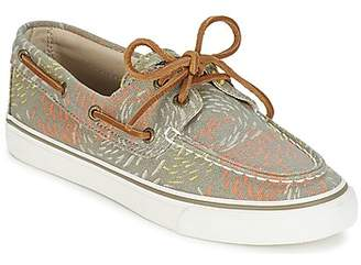 Sperry Top Sider BAHAMA FISH CIRCLE women's Boat Shoes in Grey