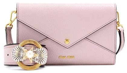 Miu MiuMiu Miu Leather Shoulder Bag