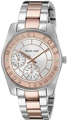 Michael Kors Women's Ryland Two-Tone Watch MK6196
