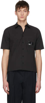 Raf Simons Black Short Sleeve Shirt
