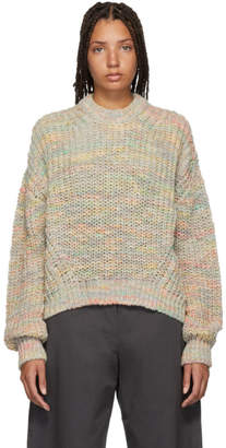 Acne Studios Multicolor Oversized Zora Sweater