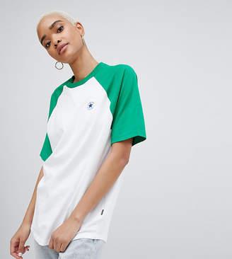 Converse Chuck Patch Short Sleeve Raglan Tshirt