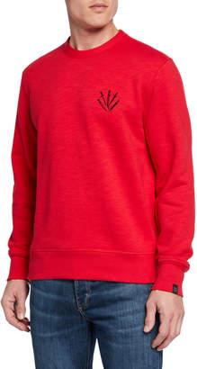 Rag & Bone Men's Dagger Embroidered Sweatshirt