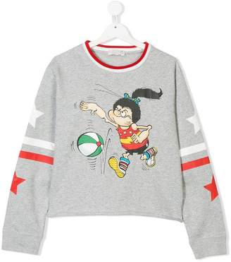 Stella McCartney sports jersey sweater