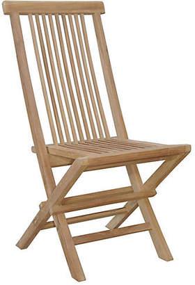 Bristol Folding Chair - Natural - Anderson Teak
