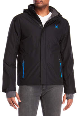 Spyder Hooded Ski Jacket