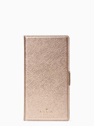 Kate Spade Magnetic wrap iphone xs max folio case