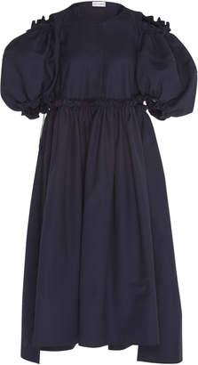 Dice Kayek Puff Sleeve Dress