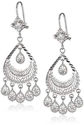 14k Gold Chandelier Ladies Earrings