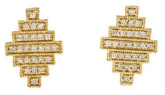 Dana Rebecca Designs 14K Jeb Diamond Stud Earrings