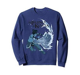 Nickelodeon Legend of Korra Korra Water Bending Sweatshirt