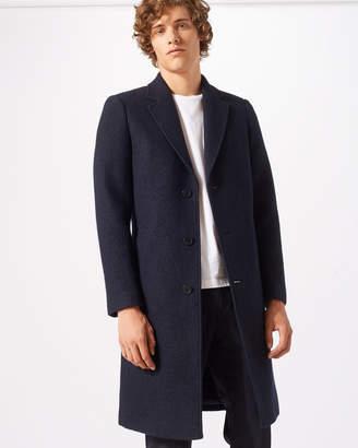 Jigsaw Boiled Wool Coat
