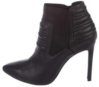 Joe's Jeans Leather Ankle Boots
