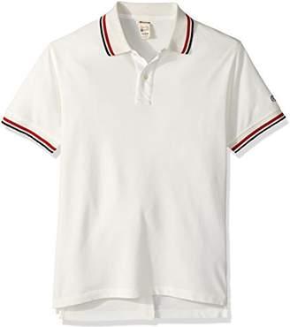 Todd Snyder + Champion Men's Short Sleeve Pique Polo Shirt