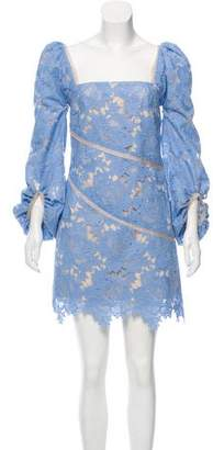Rebecca Vallance Bianca Lace Dress