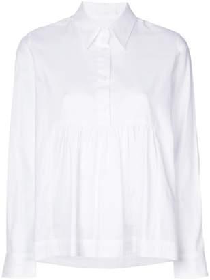 Peter Jensen circle print smock shirt
