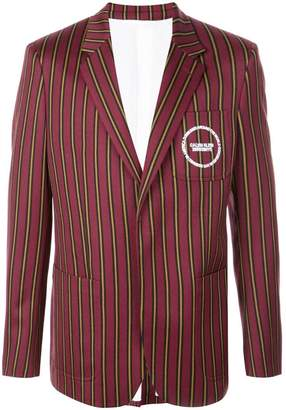 Calvin Klein striped blazer