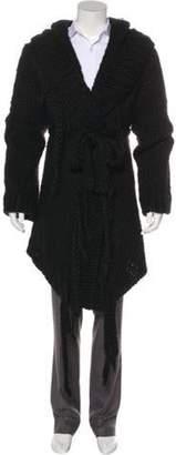 Ann Demeulemeester 2009 Wool-Blend Short Eleanor Cardigan black 2009 Wool-Blend Short Eleanor Cardigan