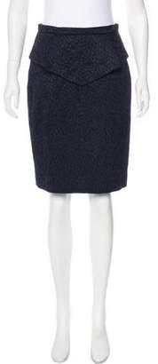 Matthew Williamson Patterned Peplum Skirt