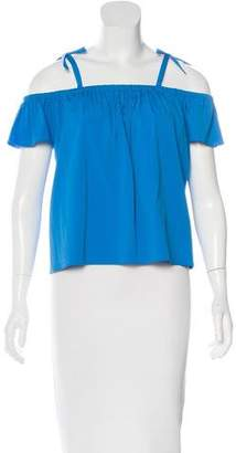Milly Minis Girls' Cold Shoulder Blouse